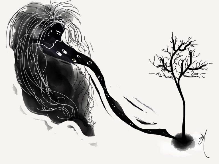A Tree — Write by Lee, Jeonglock